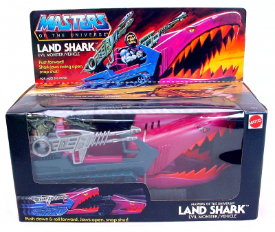Land Shark in box