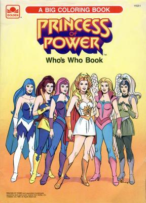 A Big Coloring Book: Who's Who Book