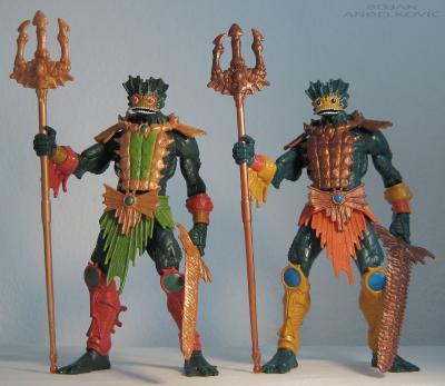 Comparison with regular Mer-Man