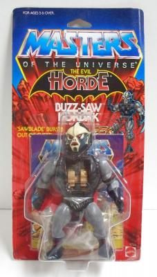 Buzz-Saw Hordak Cardback - Front View