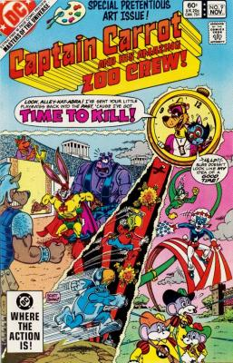 Captain Carrot and His Amazing Zoo Crew No. 9