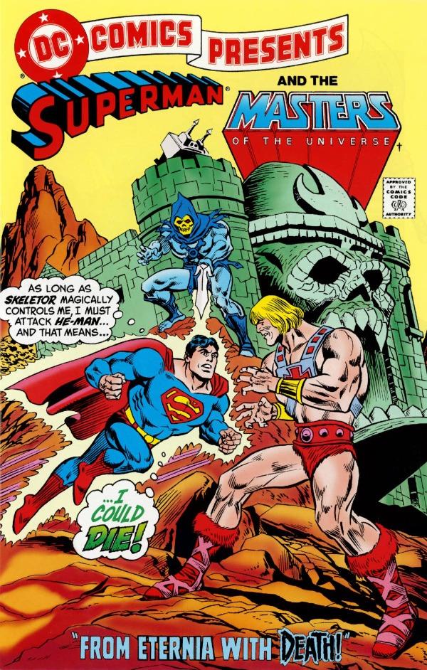 he man org publishing comics dc comics crossover 1 1982