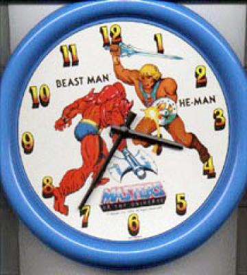 He-Man vs Beastman Clock