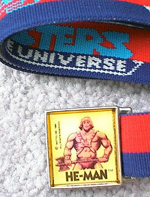 He-Man Belt Close Up