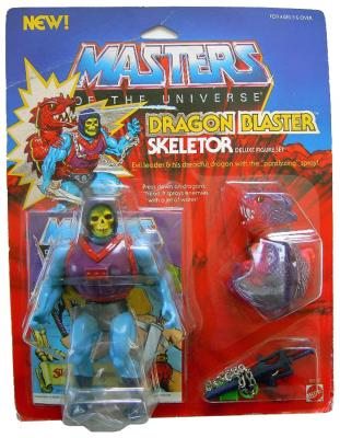 Dragon Blaster Skeletor MOC
