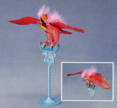 Glory Bird Prototype From The Italian Mattel Catalog