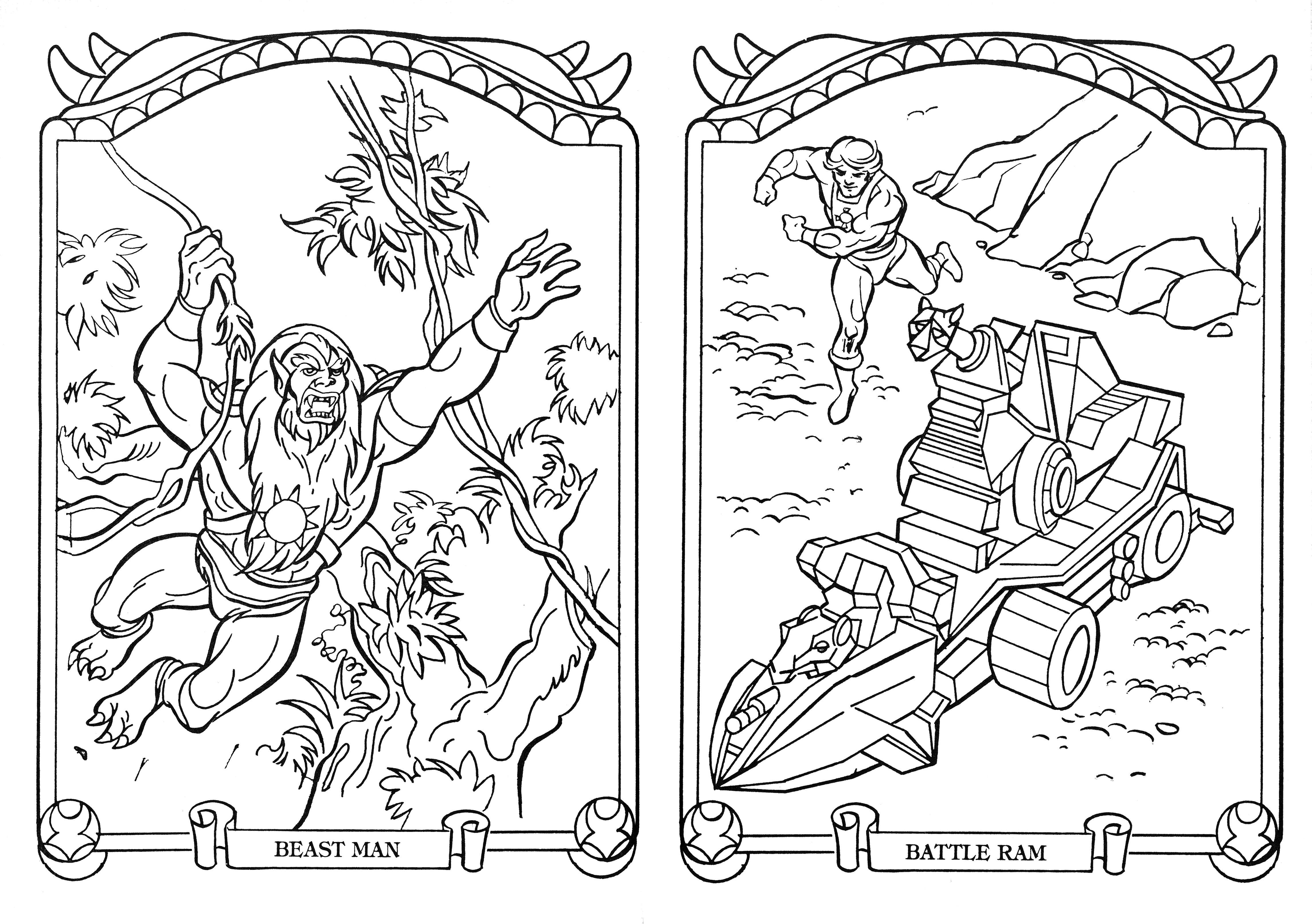 He-Man.org > Publishing > Books > Golden Coloring & Activity Books ...