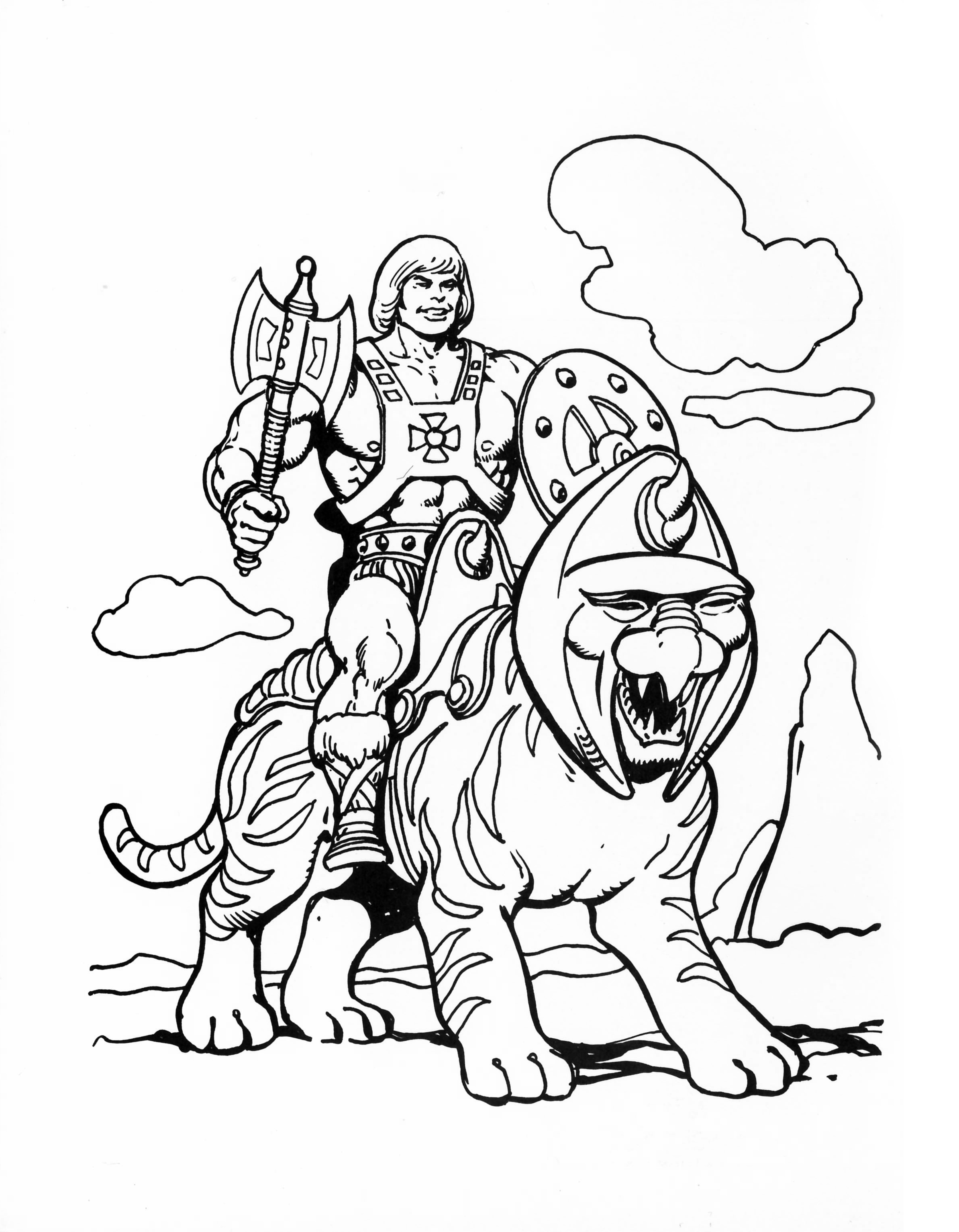 He-Man.org > Publishing > Books > Golden Coloring ...
