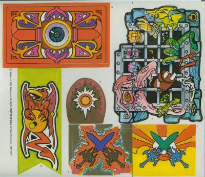 Castle Grayskull - Stickers