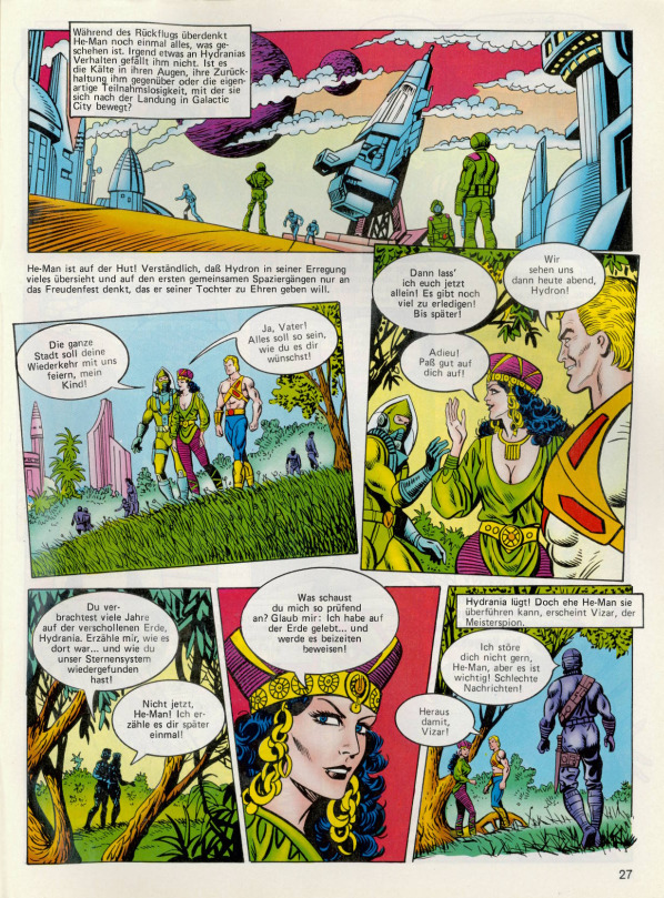 He Man Org Publishing Comics Germany Interpart Condor Verlag