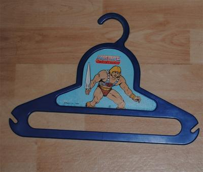 Blue Hanger with pic of He-Man