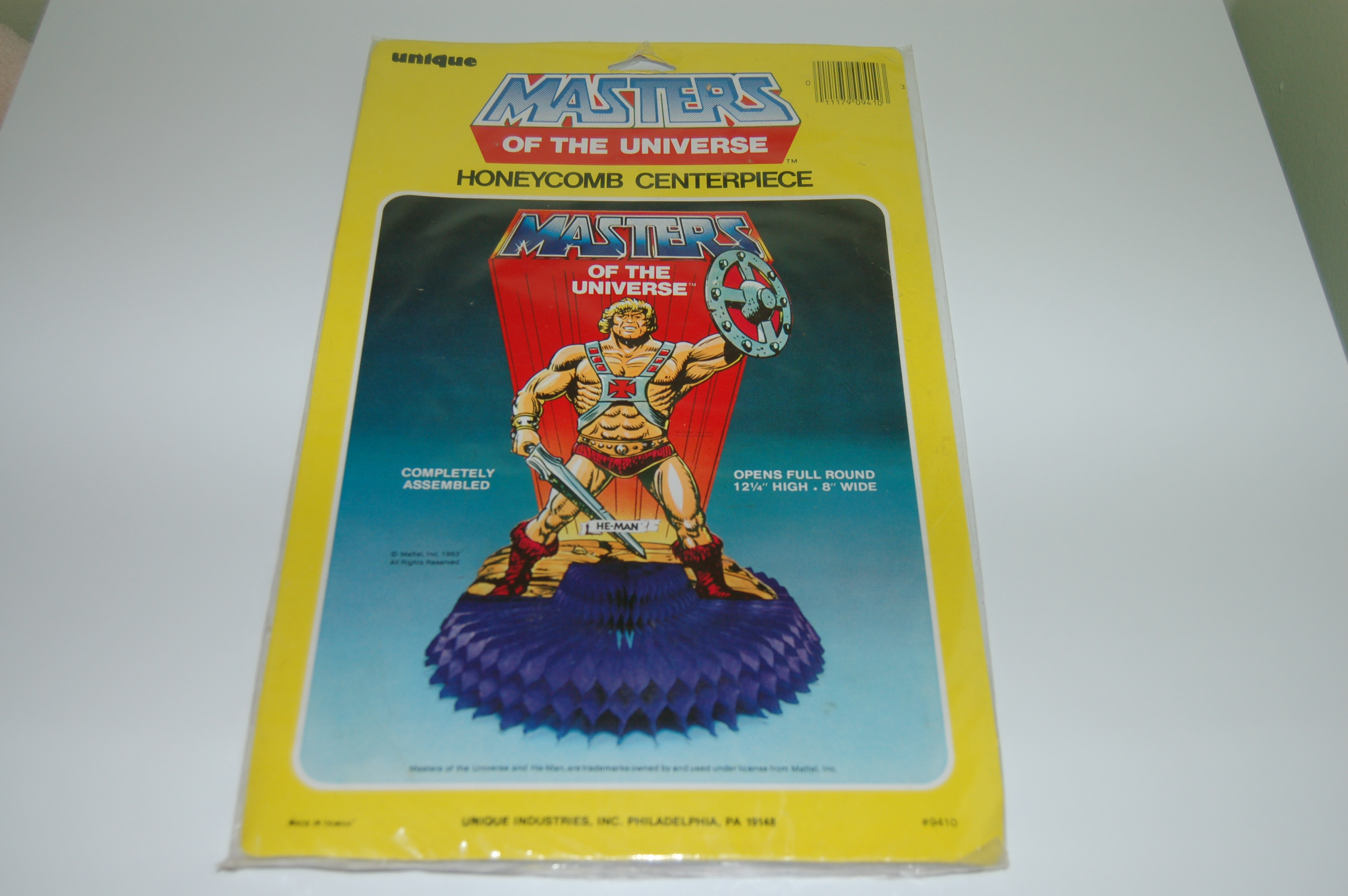 He-Man.org > Merchandising > Party Favors and Invitations ...