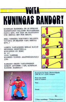 Win King Randor -Contest