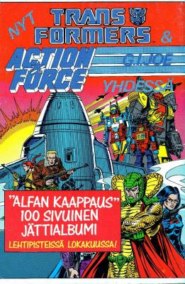 Transformers & Action Force Ad