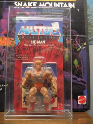 He-Man 8 back ( first edition )
