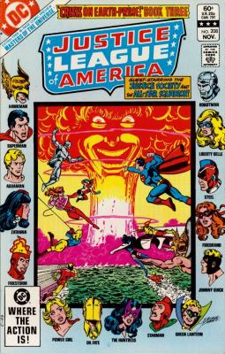 Justice League of America No. 208
