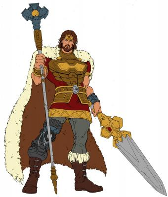 King Randor  -by Enza Fontana
