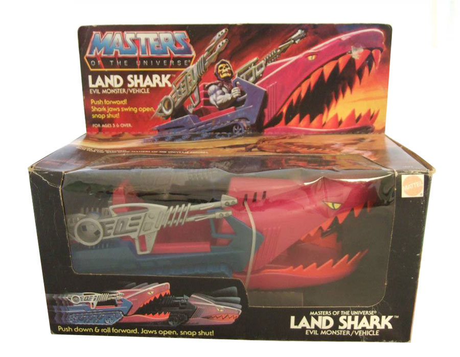 Shark Toy Box : He man gt toys masters of the universe original