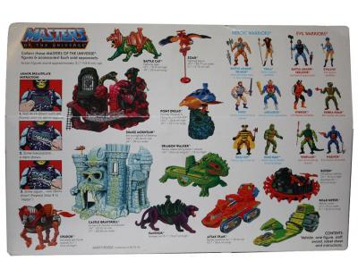 Land Shark & Battle Armor Skeletor - back