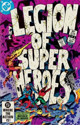 Legion of Super Heroes No. 293