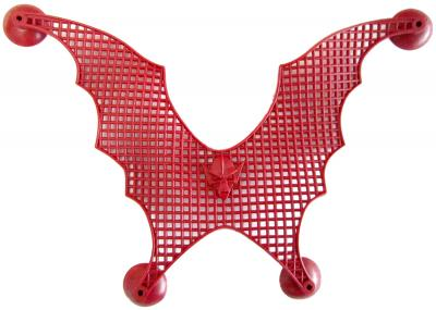 Net with suction cups