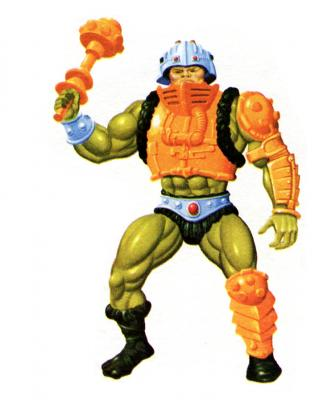 He-Man and the Masters of the Universe Vintage Man At Arms Bras Paire action...