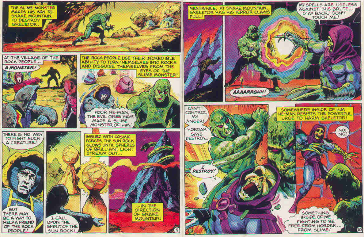 He Manorg Publishing Comics Masters Of The Universe