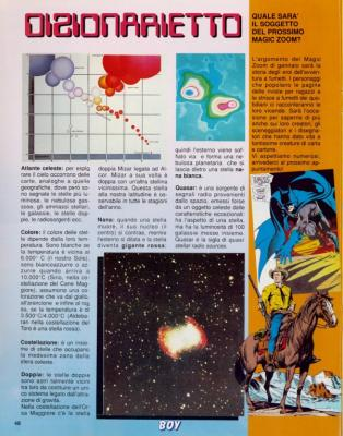 "Free gift: Dossier ""Magic Zoom"" - Stars and galaxies (Page 11)"