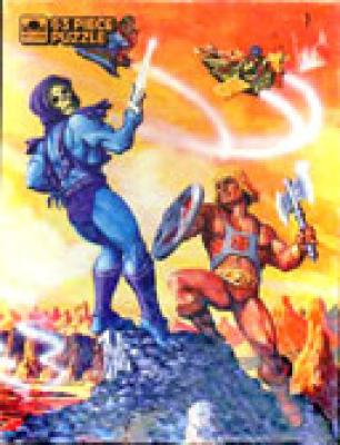 He-Man vs Skeletor