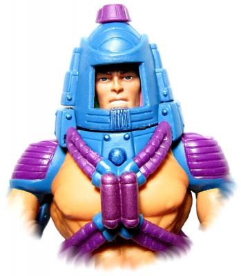 Close Up - He-Man face