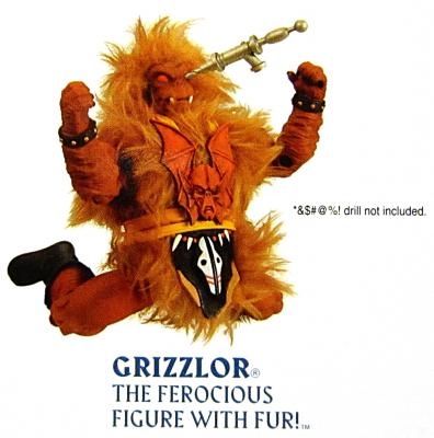 Grizzlor with drill in the eye