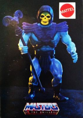 Skeletor promotional sticker
