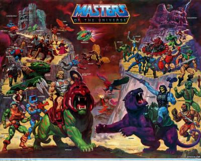 Masters of the Universe - Poster 1 (Toys)