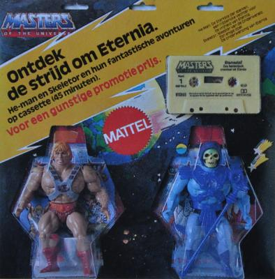 Cassette inside the Dutch He-Man & Skeletor 2-pack