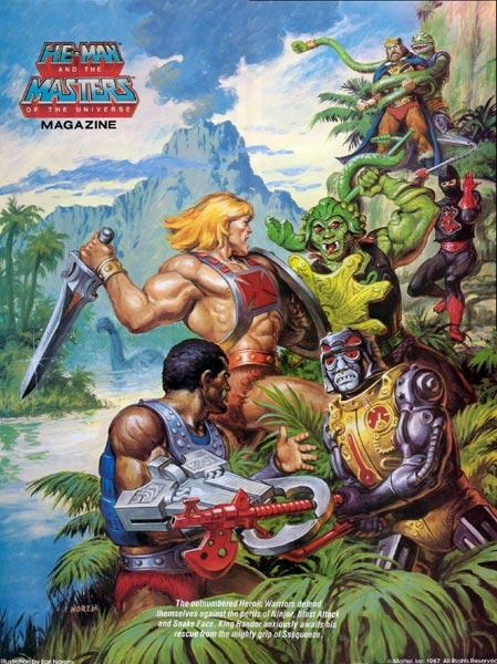 He Man Org Gt Merchandising Gt Posters Gt Masters Of The