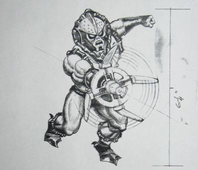 Hurricane Hordak concept art sketch