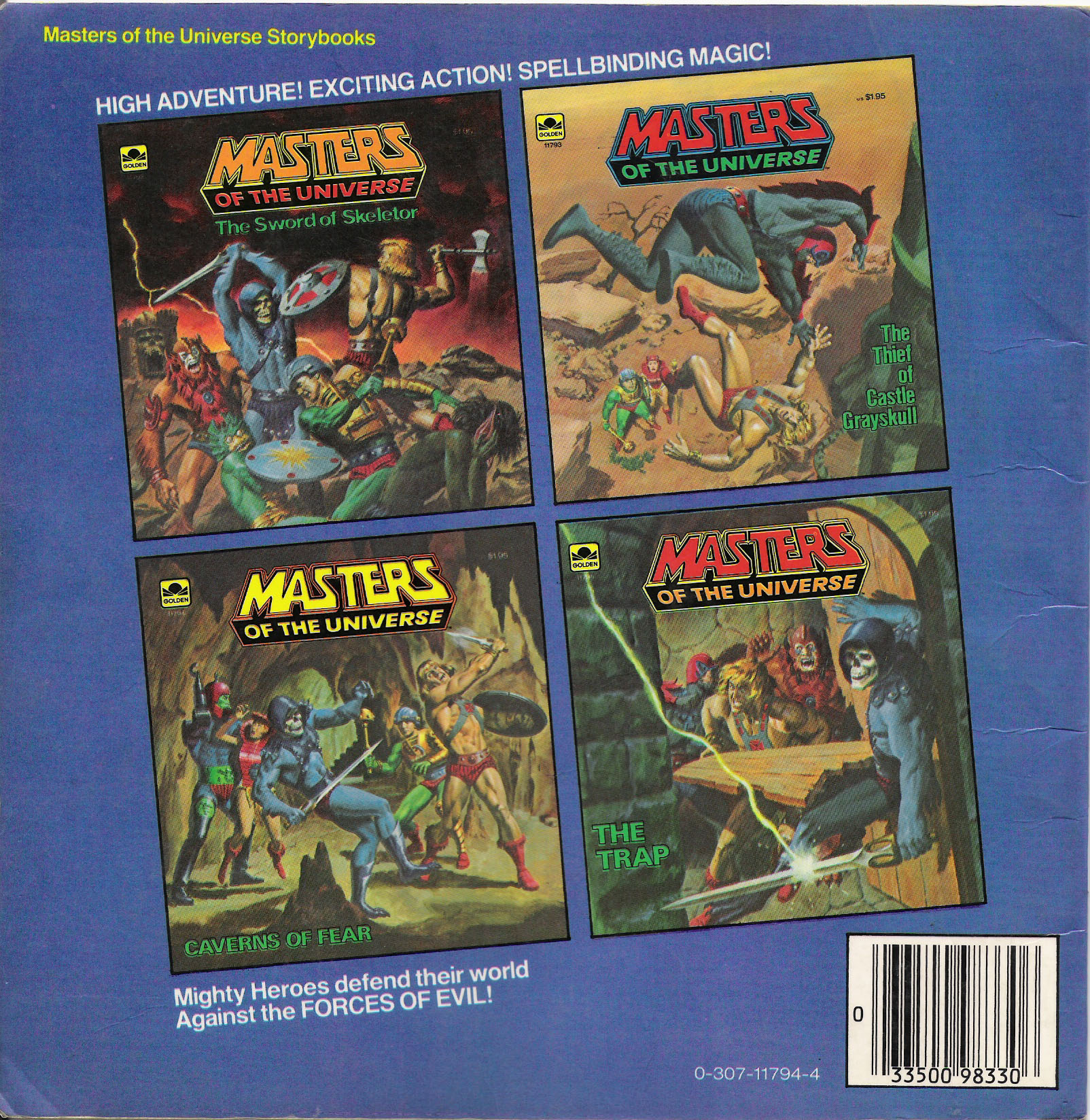 He Man Org Gt Publishing Gt Books Gt Golden Storybooks 1983