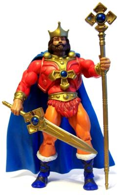King Randor with all Accessories