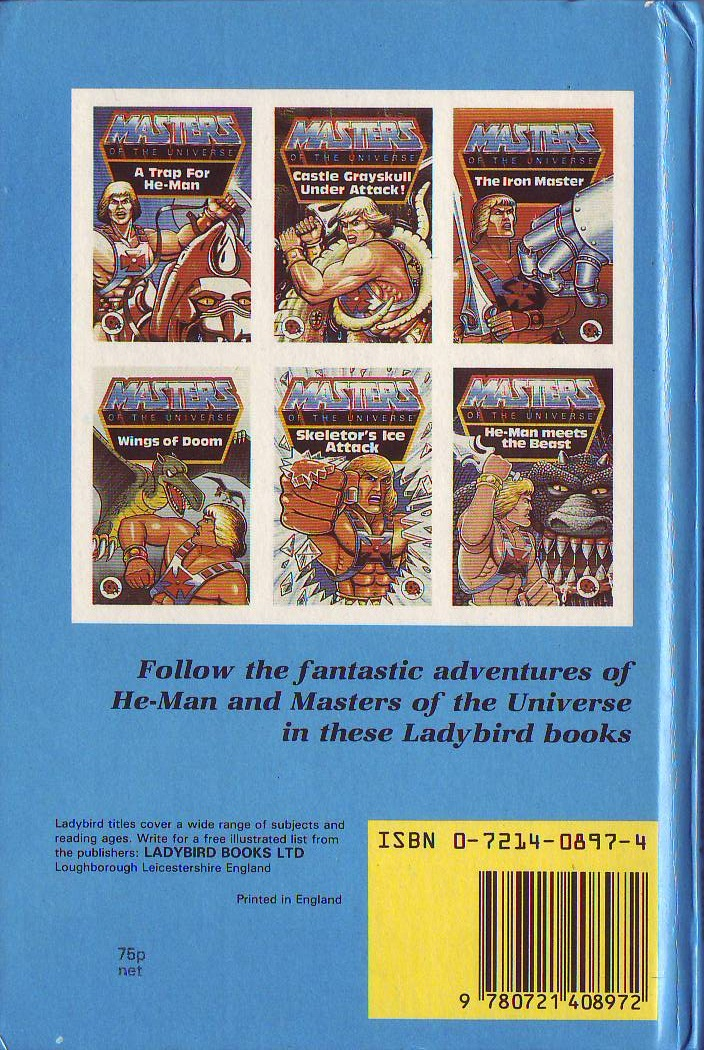 He Man Org Gt Publishing Gt Books Gt Ladybird Masters Of