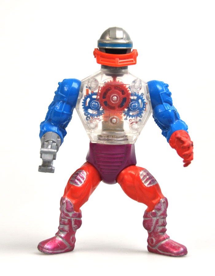HE MAN Masters of the Universe Roboto Gun Original Figure Accessory