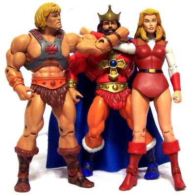 Adora, King Randor and He-Man