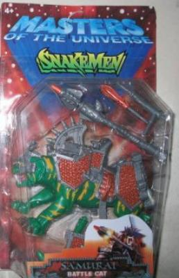 Samurai Battle Cat on Snakemen CARD!