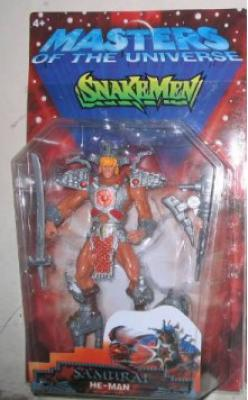 Samurai He-Man in Snakemen box