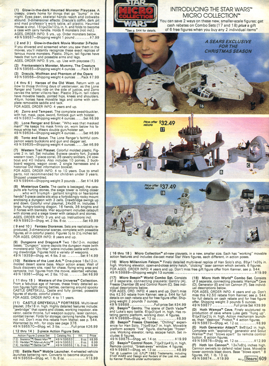 He-Man org > Promotional > Catalogs > Sears Catalog 1982