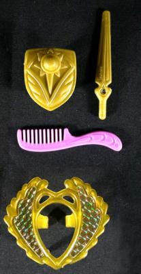 Shield, Sword, Comb and Tiara