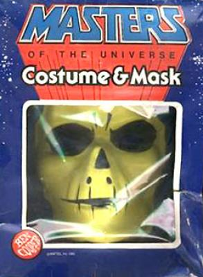 Skeletor Costume Boxed
