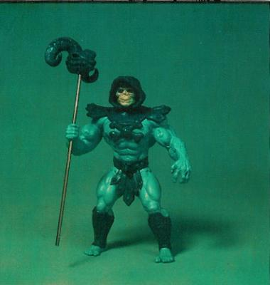 Early prototype of Skeletor