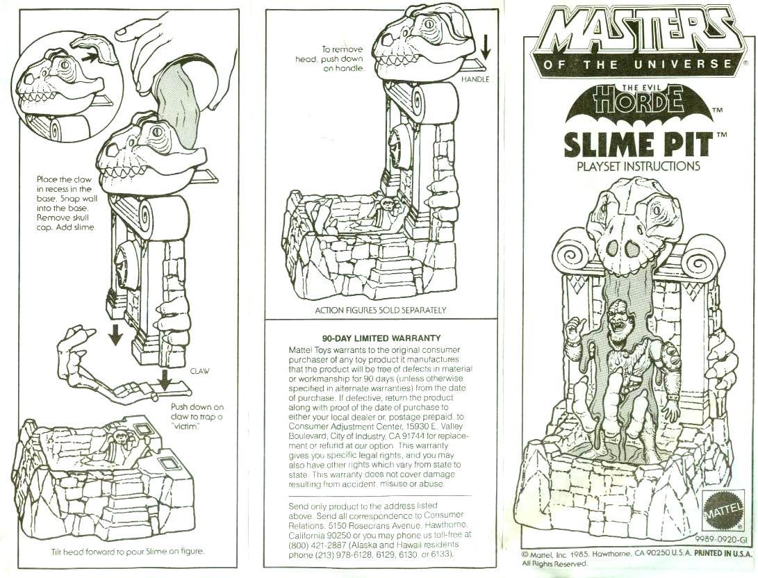 mattel dinosaur mountain instructions