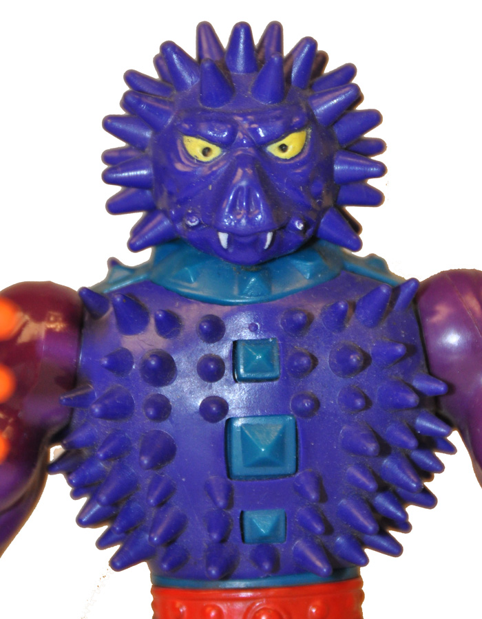 Miniature Action Figure Toy Accessory Vintage Masters of the Universe Accessory Orange He-Man Spikor Accessory Made in Malaysia 1980/'s
