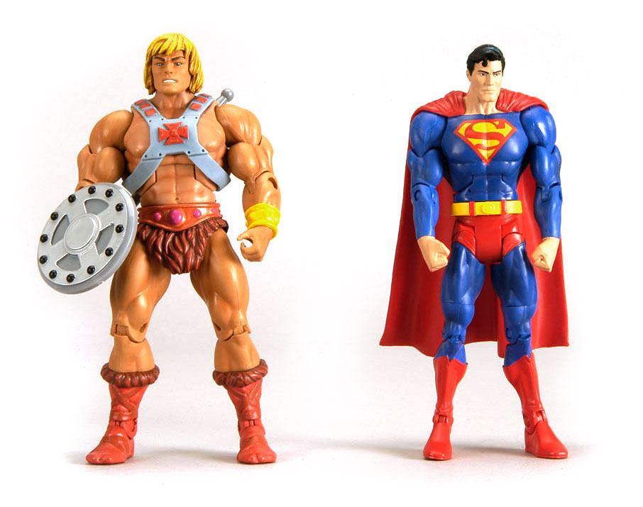 He Man Org Toys Masters Of The Universe Classics Dcuc Vs Motuc Superman Vs He Man